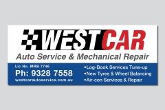Westcar-Signage